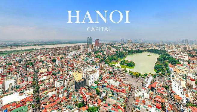 Hanoi - Capital of Vietnam - acharming city with a thousand-year-old