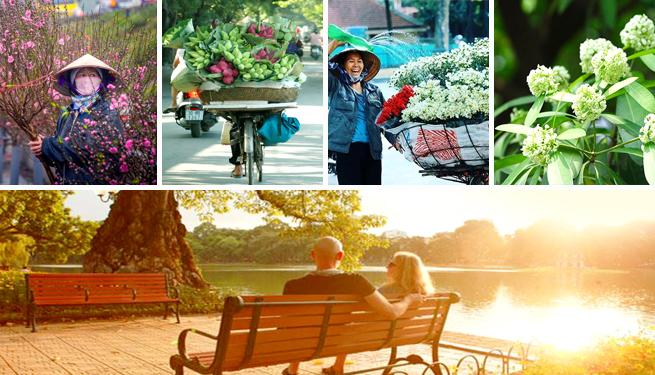 The ideal time to travel to Hanoi, flowering season and autumn season